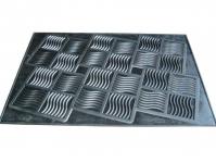 купить Коврик резиновый Волна 45х65 см цена, отзывы