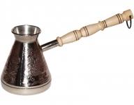 купить Турка медная Жар-птица серебро 320 мл цена, отзывы