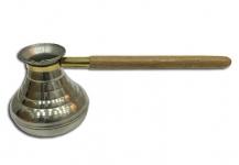 купить Турка Восточная красавица Пирамида серебро 400 мл цена, отзывы