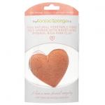 купить Спонж конняку сердце с розовой французкой глиной цена, отзывы