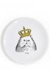 купить Тарелка Кот в короне цена, отзывы
