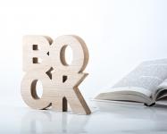 фото 10062  Держатель для книг Book дерево цена, отзывы