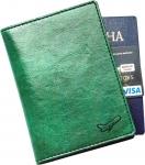 купить Обложка для паспорта Air Lux зеленый цена, отзывы