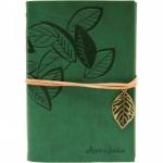 купить Блокнот с эко-кожи Nature зеленый цена, отзывы