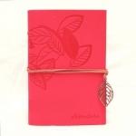 купить Блокнот с эко-кожи Nature розовый цена, отзывы