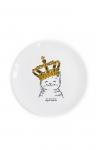 купить Детская тарелка Котёнок в короне цена, отзывы
