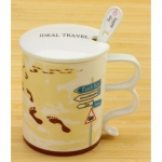 купить Чашка Ideal travel The jorney footprint цена, отзывы