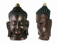 купить Этническая маска Будда 24 см цена, отзывы