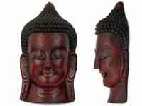 купить Этническая маска Будда 55 см красная цена, отзывы