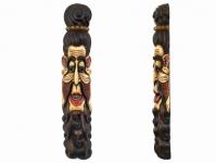 купить Этническая маска Бхуванеш 100 см слоновая кость цена, отзывы