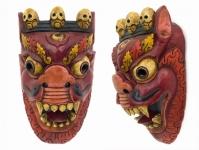 купить Этническая маска Дракон Абхаям 48 см цена, отзывы