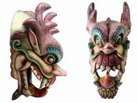 купить Этническая маска Дракон Раджа 70 см  цена, отзывы