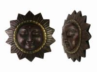 купить Этническая маска Солнце 19 см цена, отзывы