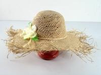 купить Соломенная шляпа Амазонка 60 см бежевая цена, отзывы