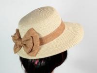 купить Соломенная шляпа Визье 29 см белая цена, отзывы