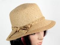 купить Соломенная шляпа Котелок 30 см коричневая цена, отзывы