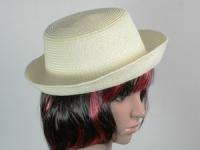 купить Соломенная шляпа Котелок 27 см бежевый цена, отзывы