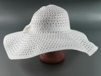 купить Соломенная шляпа Котьир 48 см белая цена, отзывы