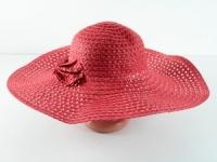 купить Соломенная шляпа Котьир 48 см красная цена, отзывы