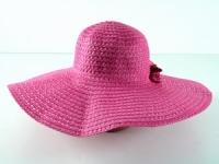 купить Соломенная шляпа Котьир 48 см розовый цена, отзывы
