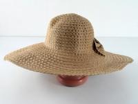 купить Соломенная шляпа Котьир 48 см светло-коричневая цена, отзывы