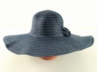 купить Соломенная шляпа Котьир 48 см синяя цена, отзывы