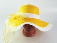 купить Соломенная шляпа Легже 40 см желтая цена, отзывы