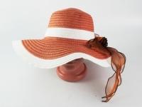 купить Соломенная шляпа Легже 40 см светло-коричневая цена, отзывы
