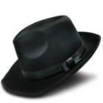купить Шляпа Мужская черная цена, отзывы