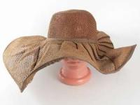 купить Соломенная шляпа Льен 57 см коричневая цена, отзывы