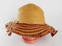 купить Соломенная шляпа Нэтьюэль 40 см темно-бежевая цена, отзывы