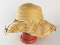 купить Соломенная шляпа Нэтьюэль 40 см бежевая цена, отзывы