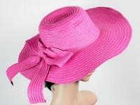 купить Соломенная шляпа Рестлин 42 см розовая цена, отзывы