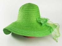 купить Соломенная шляпа Силько 46 см зеленый цена, отзывы