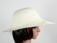 купить Соломенная шляпа Тисаж 42 см бежевая цена, отзывы