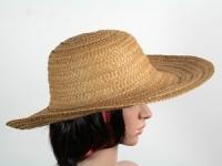 купить Соломенная шляпа Тисаж 42 см коричневый цена, отзывы