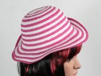 купить Соломенная шляпа детская Энфант 28 см бело-розовая цена, отзывы