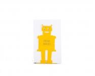 купить Держатель для книг Робот желтый цена, отзывы