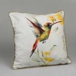 купить Декоративная наволочка Красочный колибри 40х40 см цена, отзывы