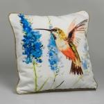 купить Декоративная наволочка Лавандовая птица 45х45 см цена, отзывы
