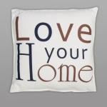 купить Подушка Люблю свой дом 45х45 см цена, отзывы