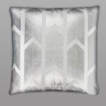 купить Подушка Изысканность серебро 45х45 см цена, отзывы