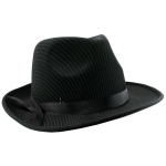 купить Шляпа мужская Мафия черная  цена, отзывы