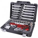 купить Профессиональный набор инструментов 1-4 дюйма и 1-2 дюйма 61 ед INTERTOOL ET-6061 цена, отзывы