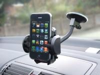 купить Автомобильный держатель для телефона на присоске цена, отзывы