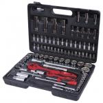 купить Профессиональный набор инструментов 1-2 дюйма и 1-4 дюйма 94 ед. INTERTOOL ET-6094 цена, отзывы