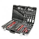 купить Профессиональный набор инструментов, 1-4 дюйма и 3-8 дюйма и 1-2 дюйма, 176 ед. INTERTOOL ET-7176 цена, отзывы