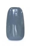 купить Ваза глянцевая овальная темно-синяя 32,5 см цена, отзывы