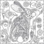 купить Обои раскраска Кролик 60х60 цена, отзывы