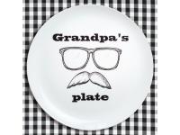 купить Тарелка Любимому дедушке цена, отзывы